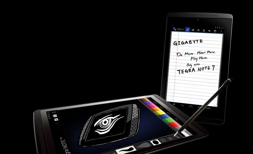 GIGABYTE TEGRA NOTE 7 – najszybszy tablet na rynku