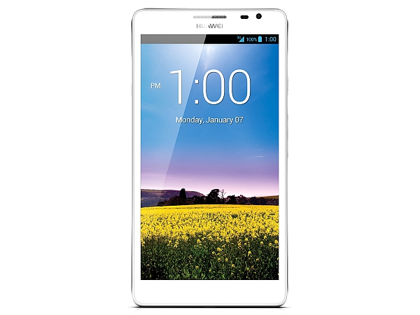 Biały phablet Ascend Mate, nowe modemy i routery Huawei 3G/LTE