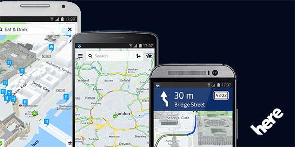 Nokia HERE Maps dla wszystkich smartfonów z Androidem