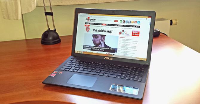 ASUS R513E: Tani laptop z czterordzeniowym procesorem i Radeonem