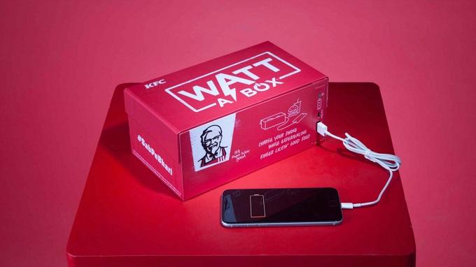 Kurczak, burger,... w pudełku, z którego doładujesz smartfona