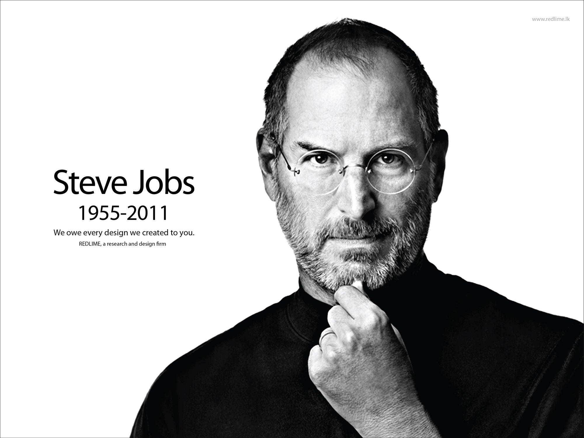 Druga rocznica śmierci Steva Jobsa - pamiętamy!