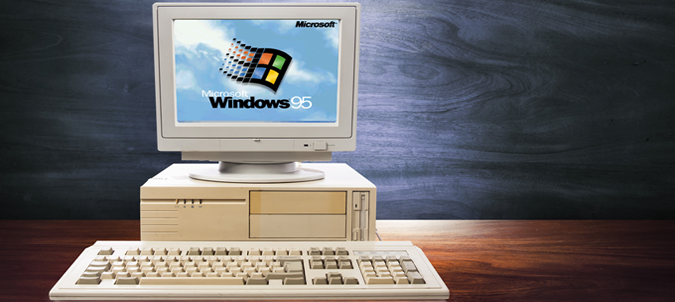 Windows 95 kończy 21 lat!