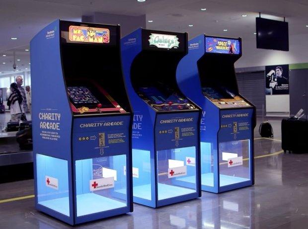 Automaty do gier, z których wygrana idzie na Czerwony Krzyż