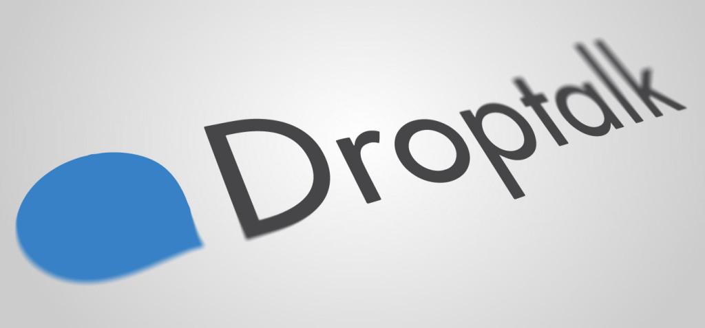 Dropbox przjmuje firmę Droptalk