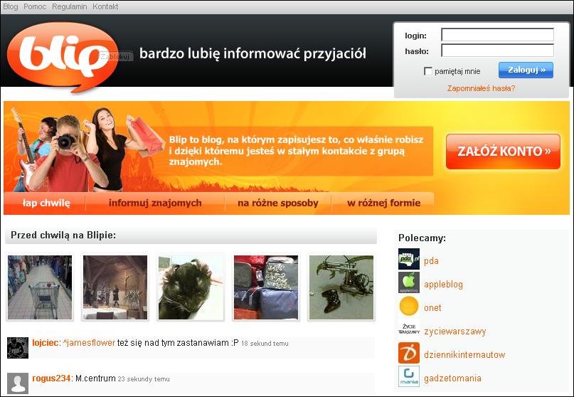 blip.pl kiedys