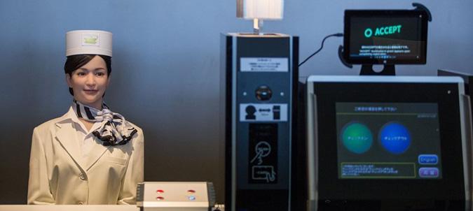 Henn na Hotel - pierwszy na świecie hotel obsługiwany przez roboty