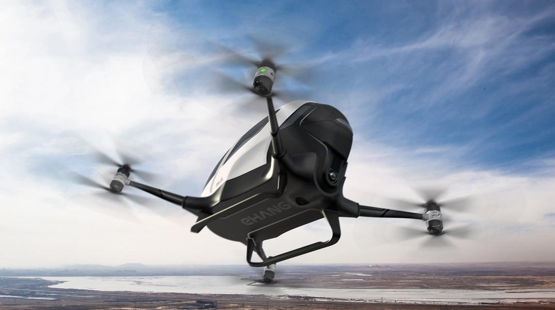Na wycieczkę dronem? Chińczycy pokazują, że to bardzo możliwe