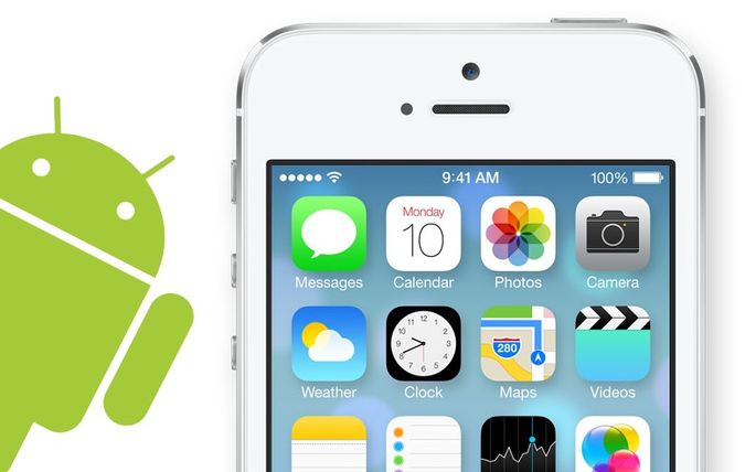 Z Androida na iOS 7