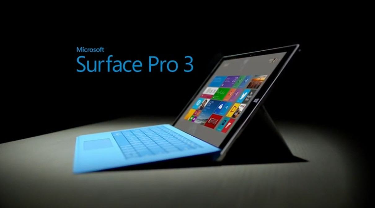 Surface Pro 3 wybrany najlepszym tabletem!