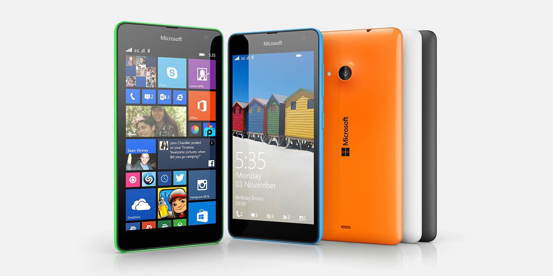 Nowa Lumia 535 po raz pierwszy od Microsoftu