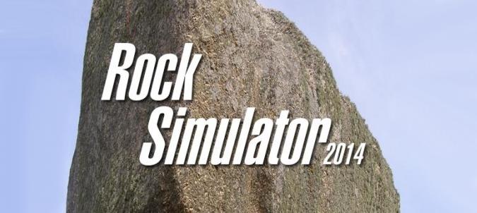 Rock Simulator 2014 - bądź kamieniem