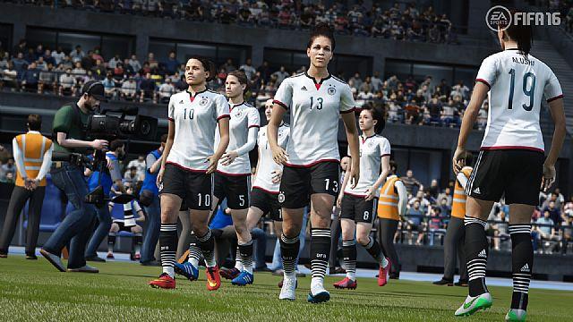 FIFA 16 zapowiedziana. Zagramy kobiecymi reprezentacjami!