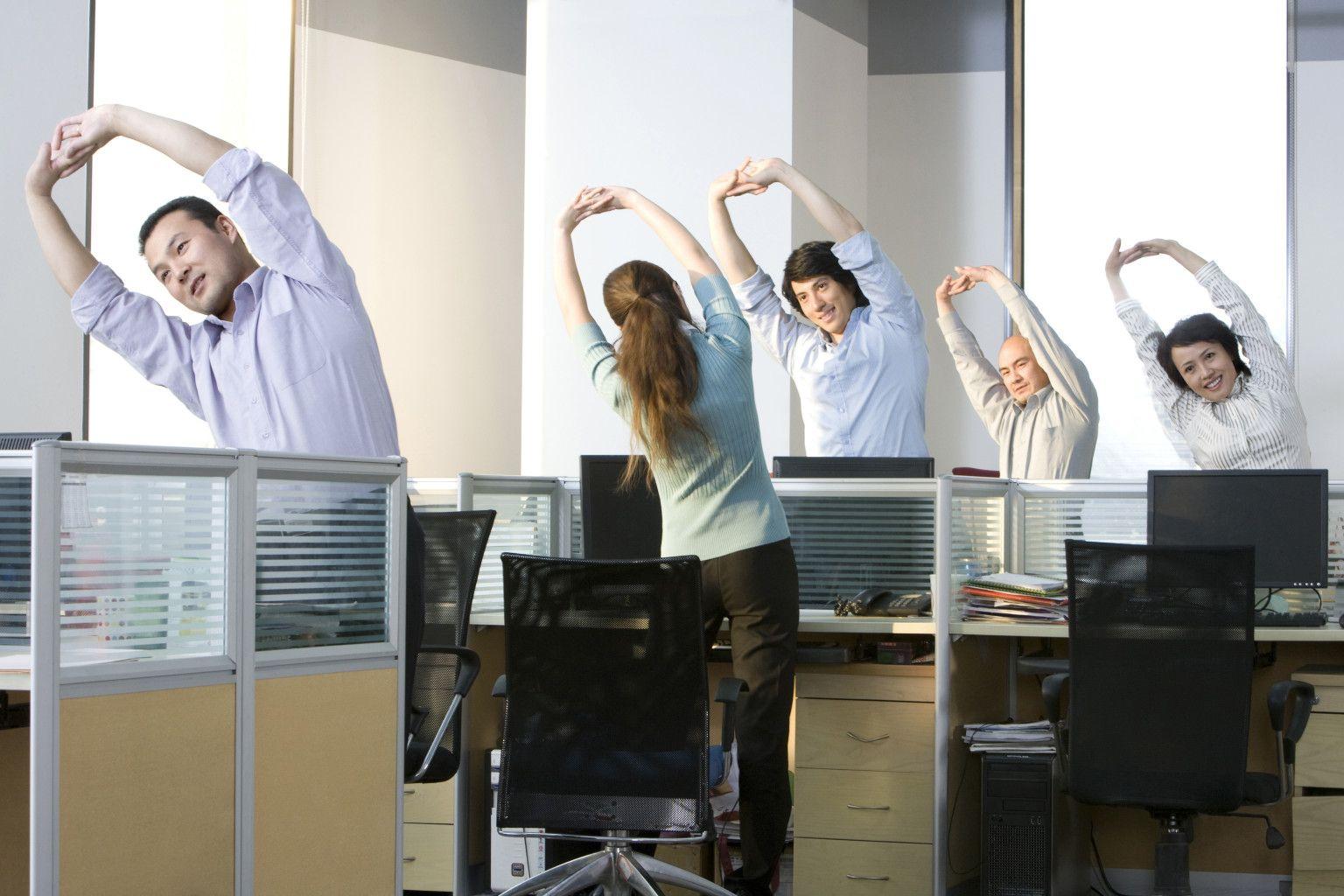 Ćwiczenia dla informatyków, które możesz wykonywać w pracy