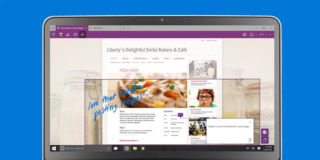 Tak wygląda przeglądarka Project Spartan w Windows 10 Preview